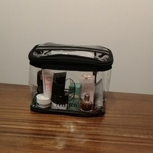 Mykitco makeup bag with samples